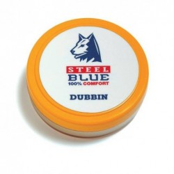 Steel Blue leervet wax